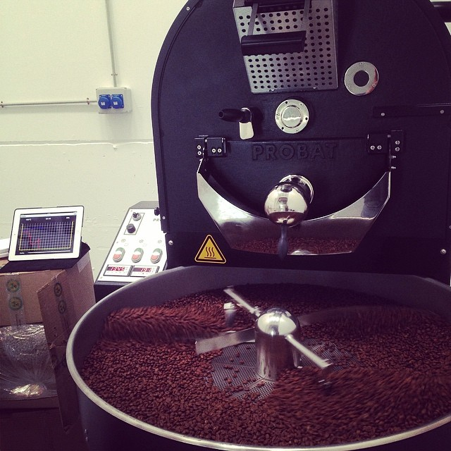 A clean coffee from a clean Tusell Tostadores roaster...