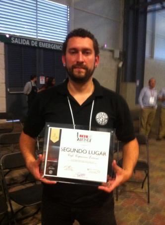 2013 Amateur Barista Champion. Represent.