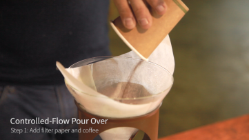 Coadding coffee to filter coffee maker