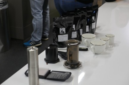 Essentials for brewing Aeropress coffee