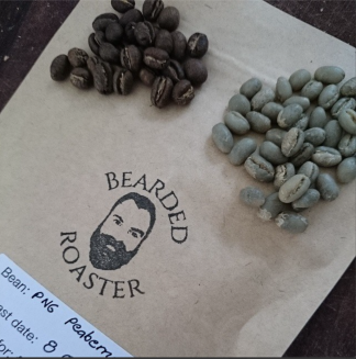 Coffee beans of Bearded Roasters